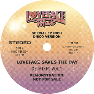 Loveface ‎/ De-Mixes Vol.1