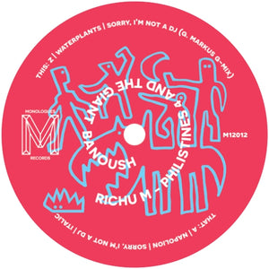 Richu M / Philistines 4 And The Giant Banoush - Luv4Wax