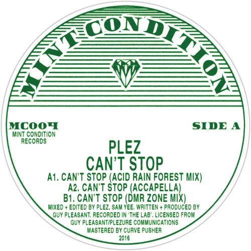 Plez / Can't Stop - Luv4Wax
