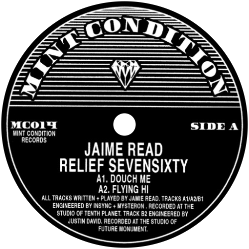 Jaime Read / Relief Sevensixty - Luv4Wax