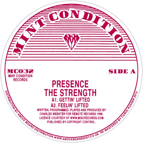 Presence / The Strength - Luv4Wax