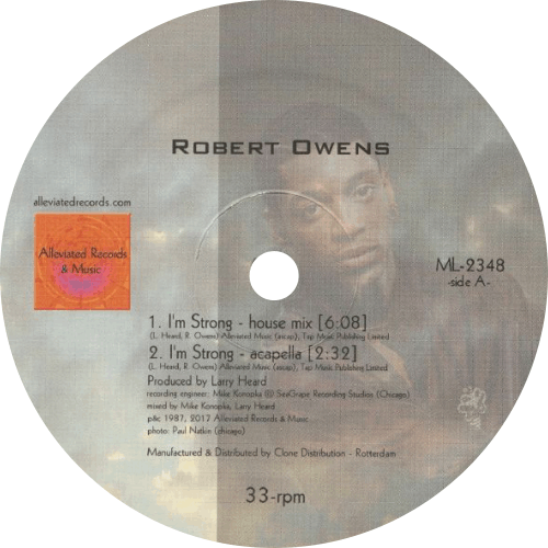 Robert Owens / Mr. Fingers / I'm Strong