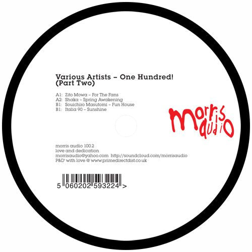 Various Artists / One Hundred! Part 2 - Luv4Wax