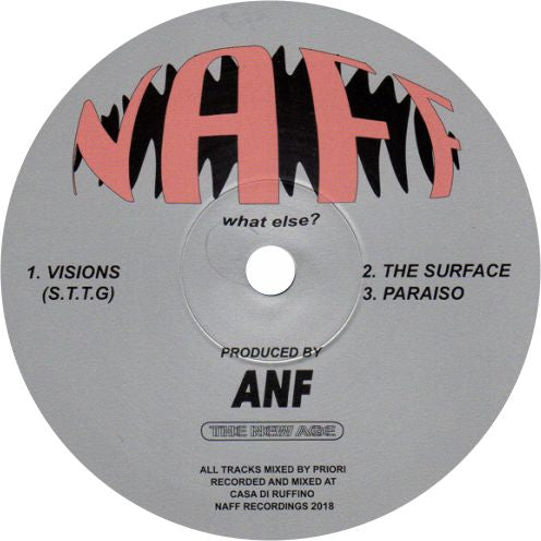 ANF / Visions - Luv4Wax