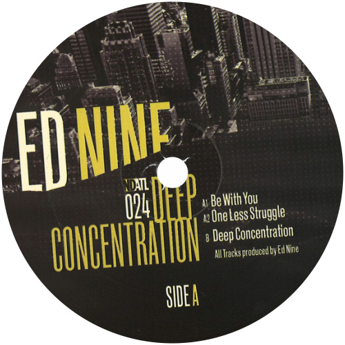 Ed Nine / Deep Concentration - Luv4Wax
