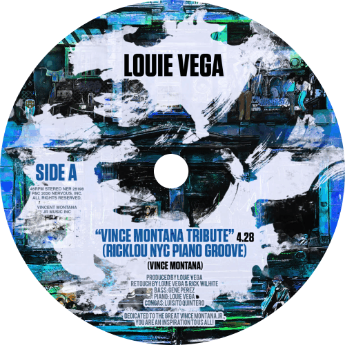 Louie Vega ‎/ Vince Montana Tribute (Yellow Vinyl)