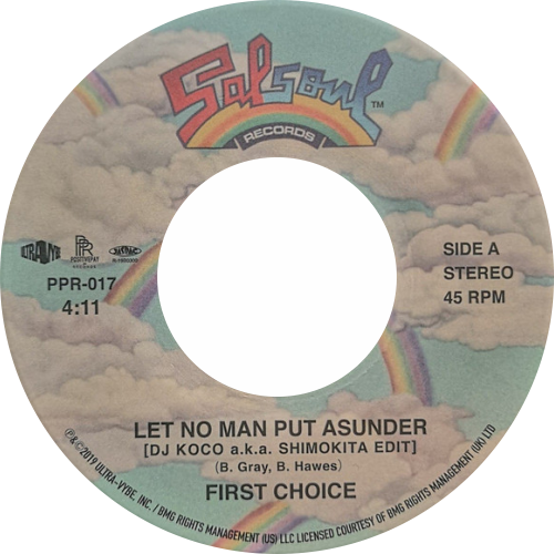 First Choice / Let No Man Put Asunder / DJ Koco A.K.A. Shimokita Edit