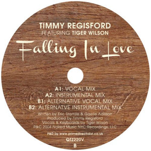 Timmy Regisford ft. Tiger Wilson / Falling In Love - Luv4Wax
