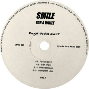 Duccio / Pocket Love EP - Luv4Wax