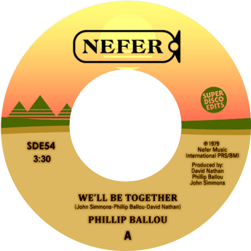 Phillip Ballou ‎/ We'll Be Together / I Need You