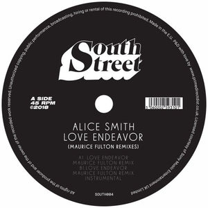 Alice Smith / Love Endeavour (Maurice Fulton Remixes) - Luv4Wax