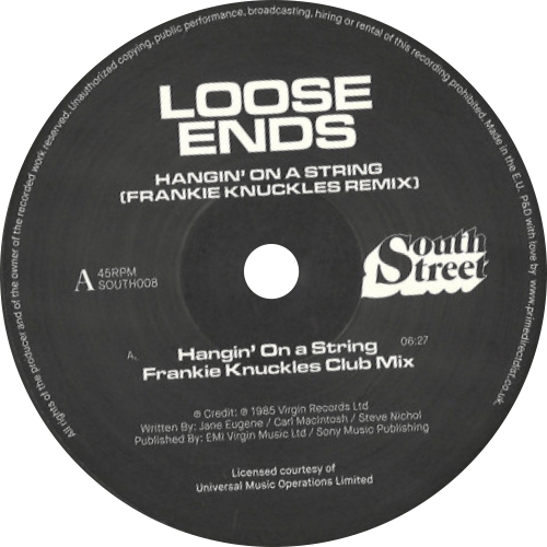 Loose Ends / Hangin' On A String / Frankie Knuckles Remix