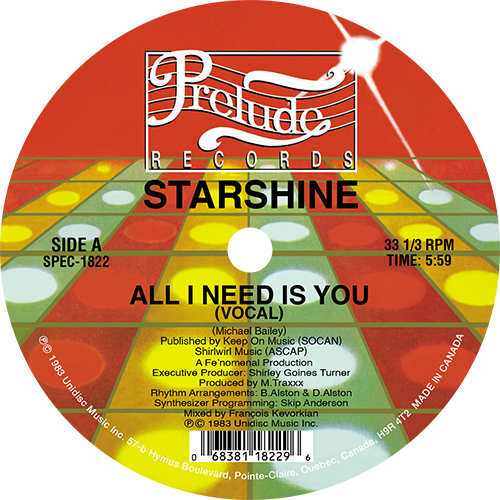 Starshine / All I Need Is You