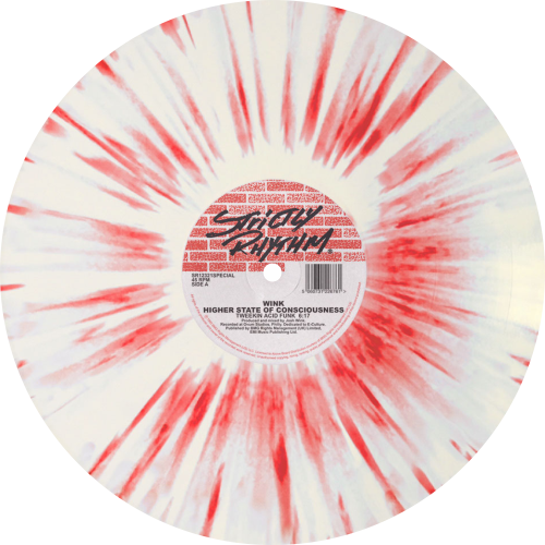Wink / Higher State Of Consciousness (Red/White Splatter Vinyl)