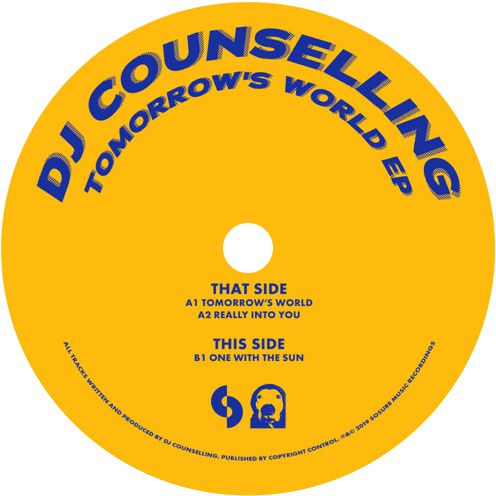 DJ Counselling / Tomorrow's World EP - Luv4Wax