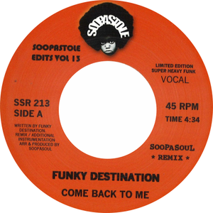 Funky Destination / Come Back To Me