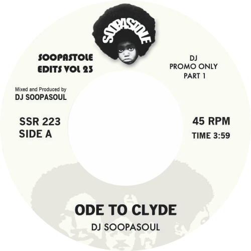 Soopasoul ‎/ Ode to Clyde