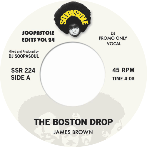 James Brown ‎/ The Boston Drop