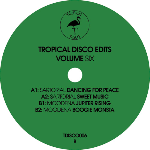 Sartorial / Moodena ‎/ Tropical Disco Records Volume Six