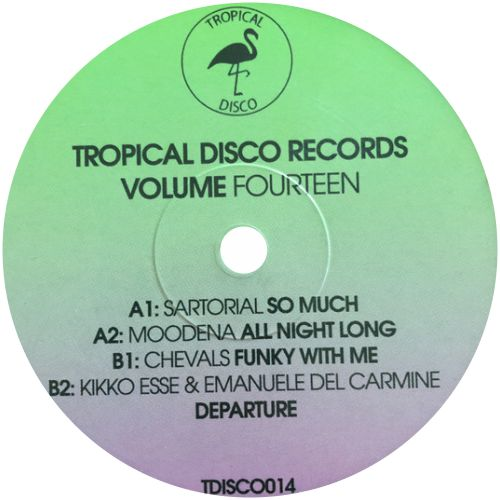 Sartorial, Moodena, Chevals, Kikko Esse & Emanuele Del Carmine / Tropical Disco Records Volume Fourteen - Luv4Wax