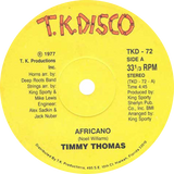 Timmy Thomas ‎/ Africano / Why Can't We Live Together (Yellow Vinyl)