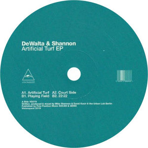 DeWalta & Shannon / Artificial Turf EP - Luv4Wax