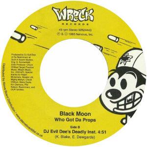 Black Moon / Who Got The Props - Luv4Wax