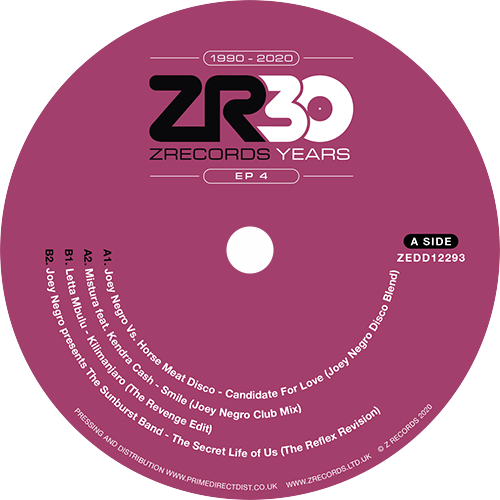 Various ‎/ 30 Years Of Z Records EP 4