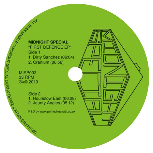 Midnight Special / First Defence EP - Luv4Wax