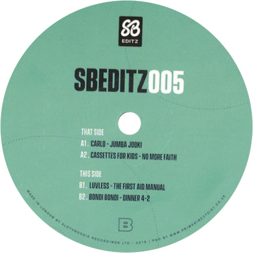 Various Artists / SB EDITZ005 - Luv4Wax