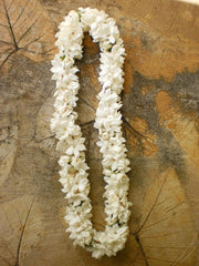 double stephanotis lei