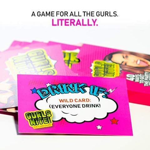 Girls Night Out Bachelorette Party Drinking Game