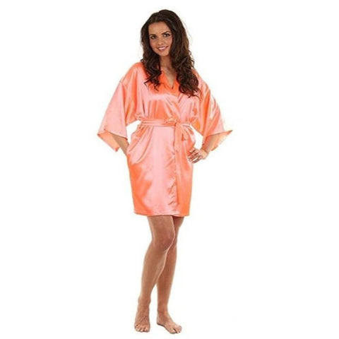 Image of Satin Bridesmaid Robe
