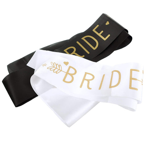 Bride Sash and Bride Tribe Sash