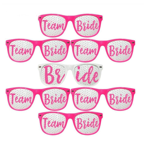 Bride & Team Bride Sunglasses 7pc Set