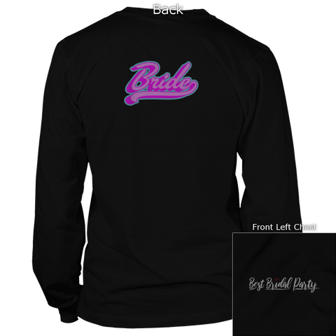 Image of Bride Back Design Apparel