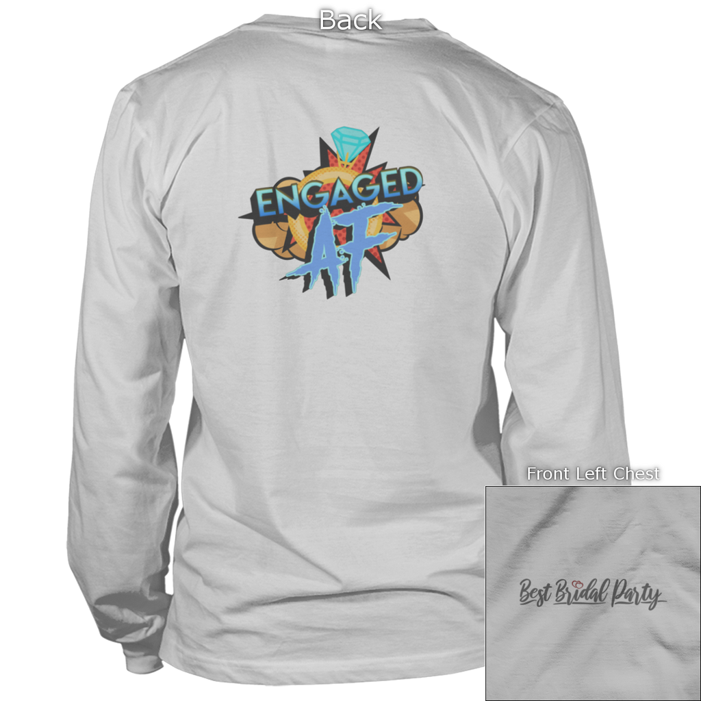 Engaged AF Back Design Apparel