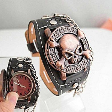 Steampunk Skull Watch