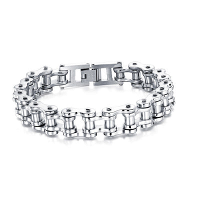 High Quality Biker Chain (Silver)