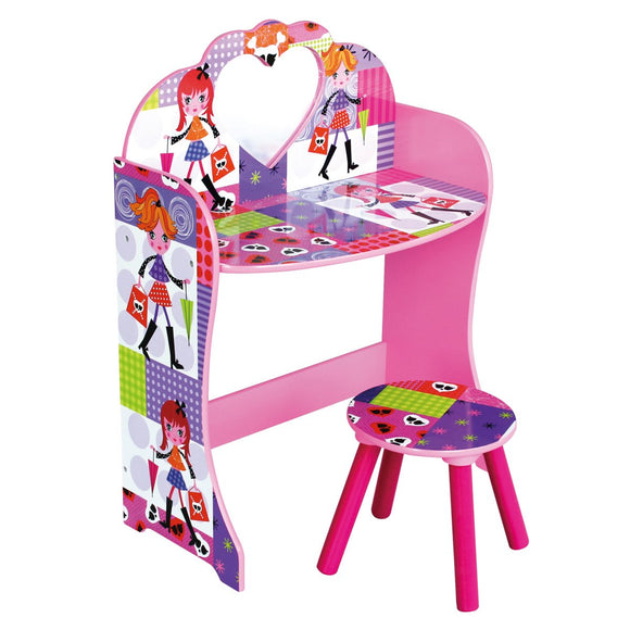 Girls First Dressing Table & Stool