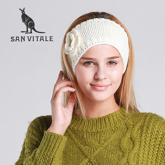 Classic Style Beret Knit Cashmere Beanie