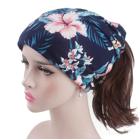 Ethnic Fall Beanie for Ladies
