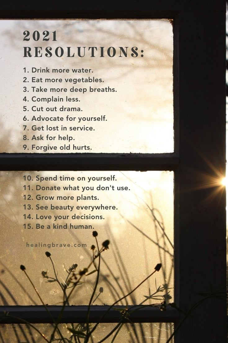This is about taking responsibility for your life. A tall order, but I'm a fan of starting with a simple idea and letting it evolve from there. I believe in letting yourself evolve, one decision at a time. Here are my 2021 intentions, a manifesto of sorts, to inspire you to make more room for what makes you come alive.