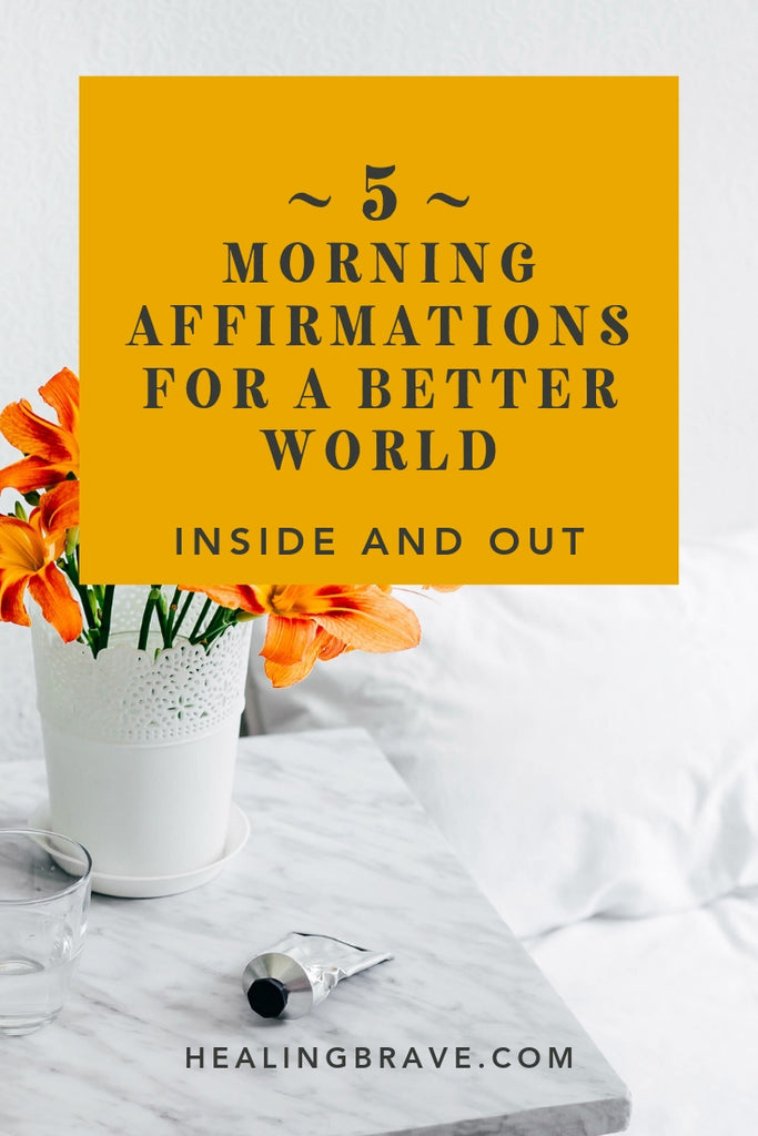 Your story, your strength, your compassion, your passion, your perspective has the power to become someone else's lifeline or lantern. These affirmations for a better world are from my new book, Morning Affirmations! They'll encourage you to bring your natural brilliance wherever you go — it's how you make a difference.