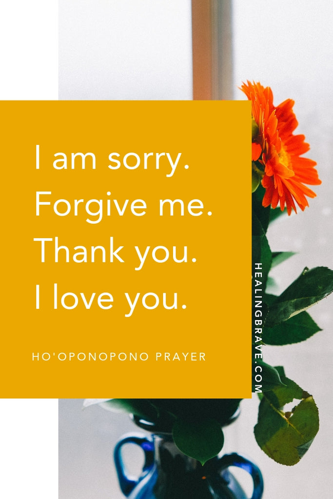 The Ho'oponopono prayer is part of an ancient Hawaiian practice, and it could play a central role in your relationships and your own physical and emotional healing. Its four tenets: repentance, forgiveness, gratitude, and love. If you're ready to feel better, heal better, and move forward your own way, try this ritual.