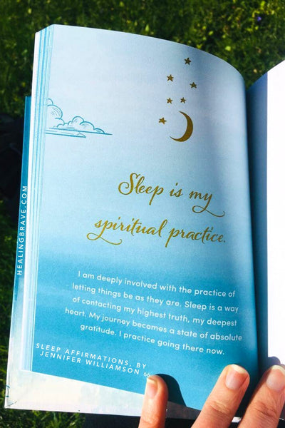 I am deeply involved with the practice of letting things be as they are. Sleep is a way of contacting my highest truth, my deepest heart. My journey becomes a state of absolute gratitude. I practice going there now.