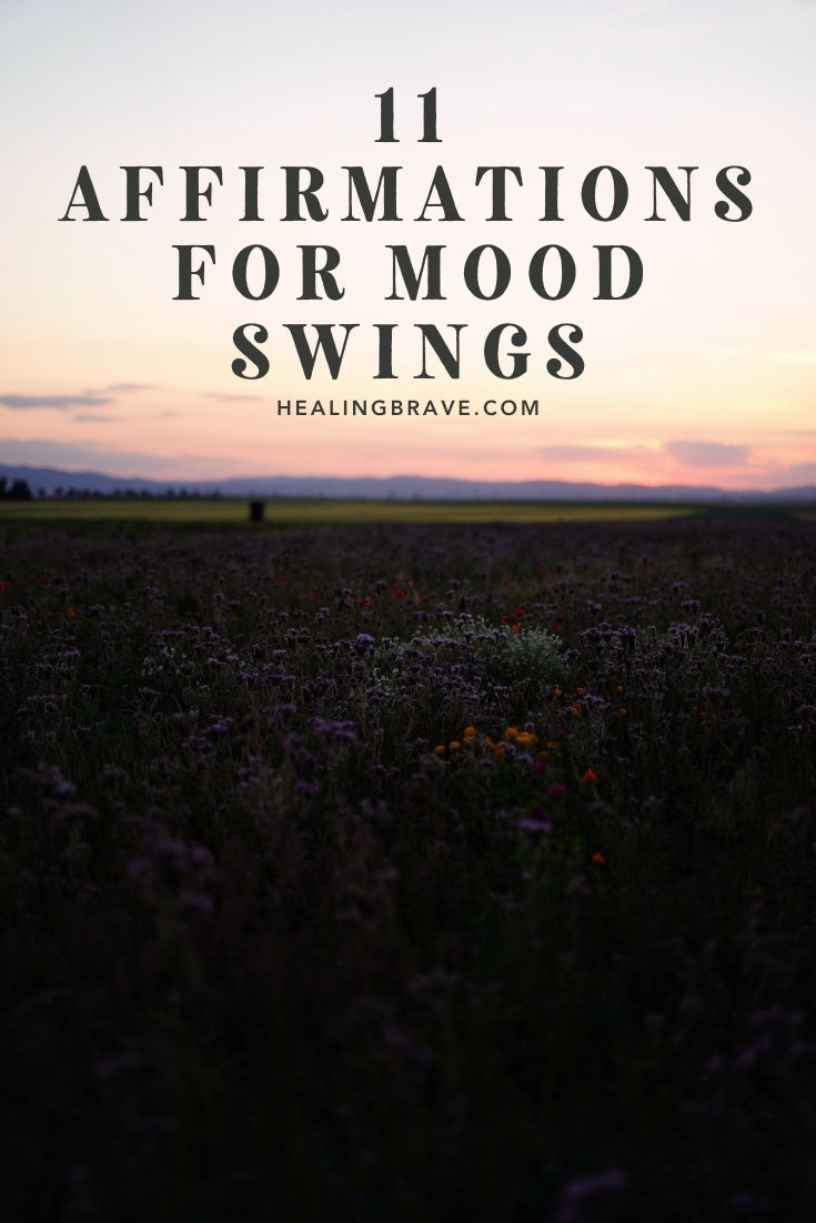 Before anything else, it's okay to admit you're not perfect or good all the time. It's okay to admit that some days, weeks, and seasons are much harder than others. Hiccups are part of life. So are you. When you feel as volatile as a storm, try using these affirmations for mood swings. So you can get on with your life.