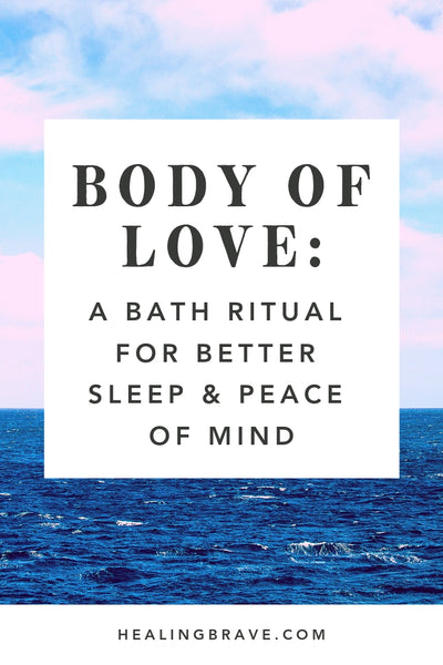 A bath can be, well, a bath. Or, it can be a bath ritual. The difference is in the way you feel about it. In the way it makes you feel. If by Tuesday it's already been a long week, try this easy at-home ritual tonight. You'll feel so. much. better.