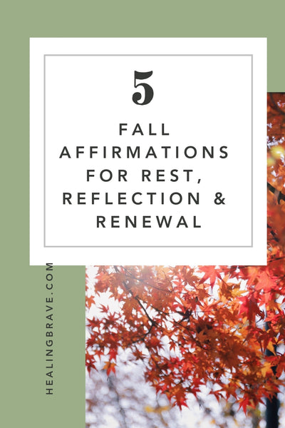 Fall is one of the loveliest times for reflection and renewal. Magic seems more easily accessible, almost like it's glittering in the air, begging us to see it. You'll want to keep these fall affirmations on hand if you're ready to open up to the beauty this season has to give.