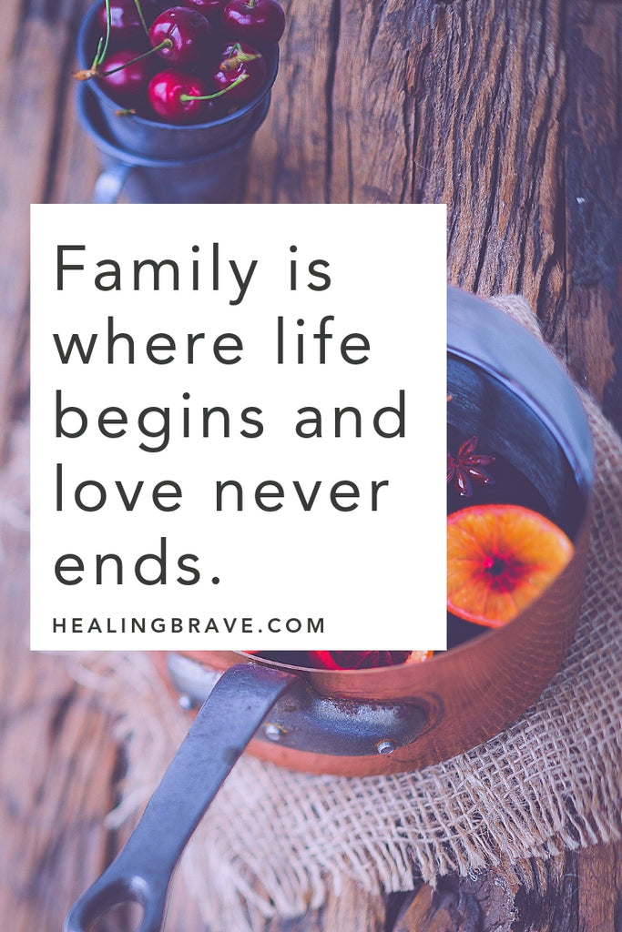 It's not what you have in life that matters, but who you share your life with. The people who lift you up, push you forward, celebrate your successes, and love you through every bump in the road… that's family. Read these family quotes to celebrate the people you call family, whether through blood or pure love (or both).